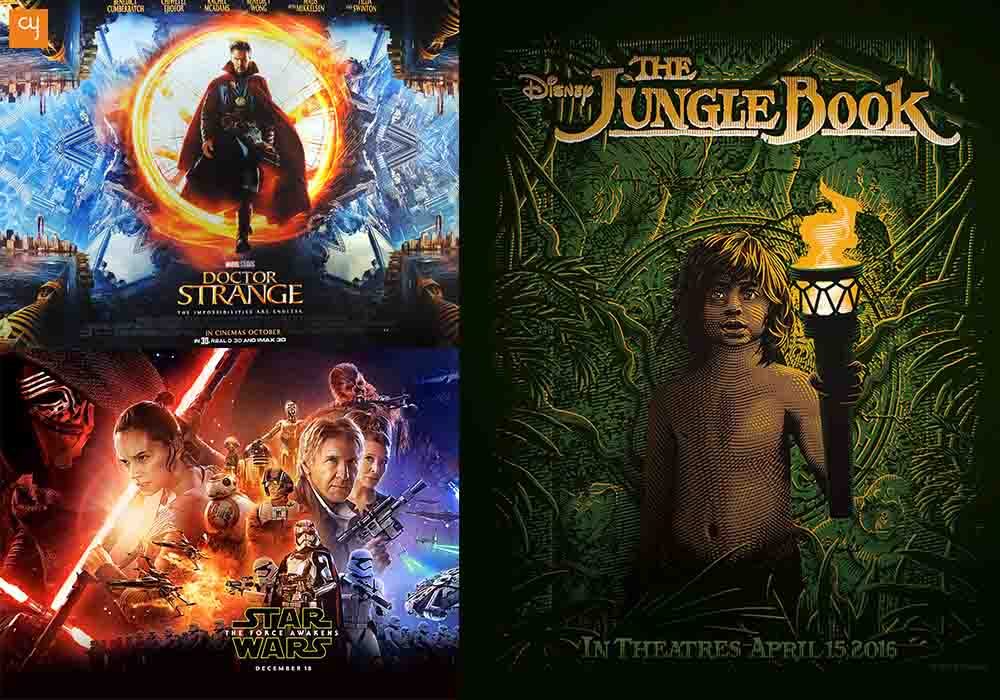oscar-nominations, the-jungle-book, doctor-strange, star-wars