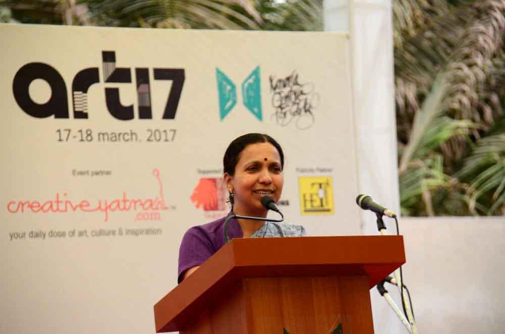 art17-annual-exhibit-inaugurated-by-dr-jayanti-s-ravi-ias-commissioner-principal-secretary-rural-development