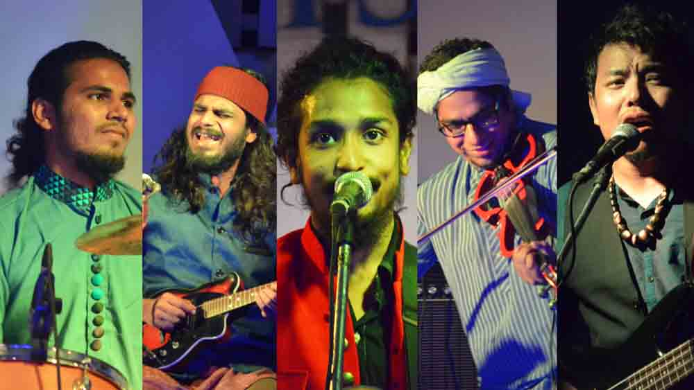 Neeraj arya's kabir-cafe-band-pic
