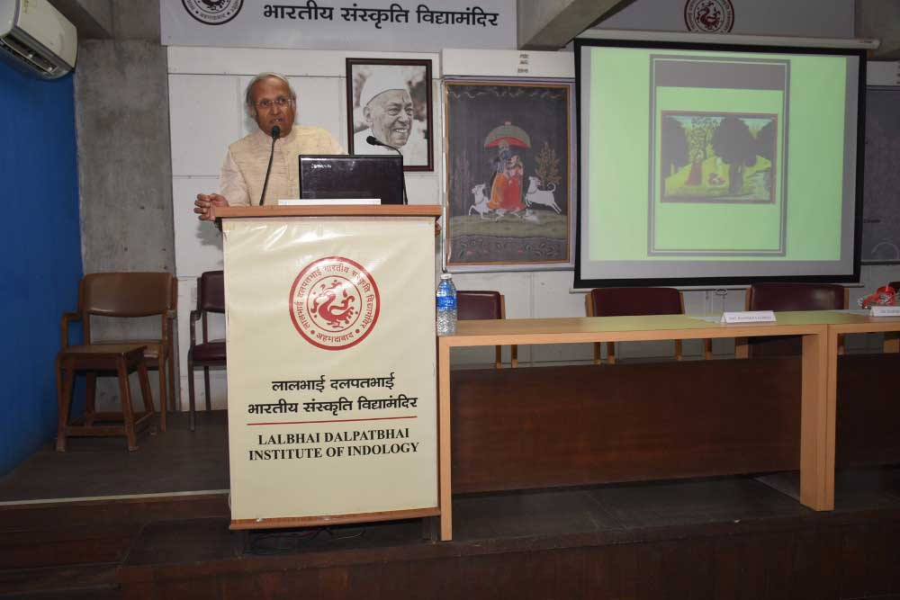 Krishna Shringara, Dr Harsha V Dehejia, lecture, indian art, bhagavad gita, ancient indian arts
