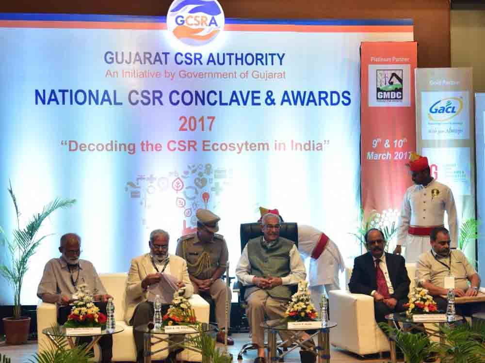 national-csr-conclave, awards, 2017, Ahmedabad