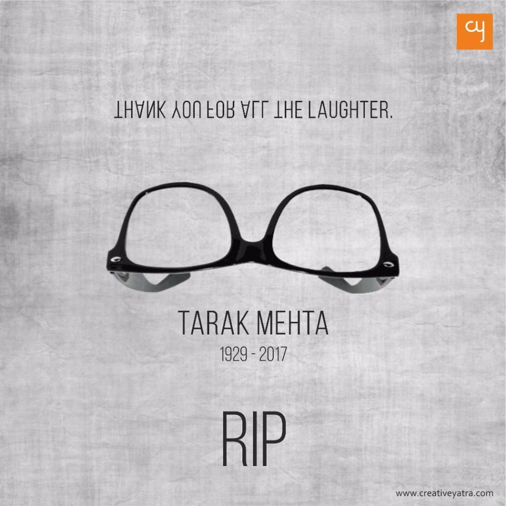 Tarak Mehta, RIP, Tarak Mehta Na Ulta Chashma, Tarak Mehta Ka Oolta Chashma