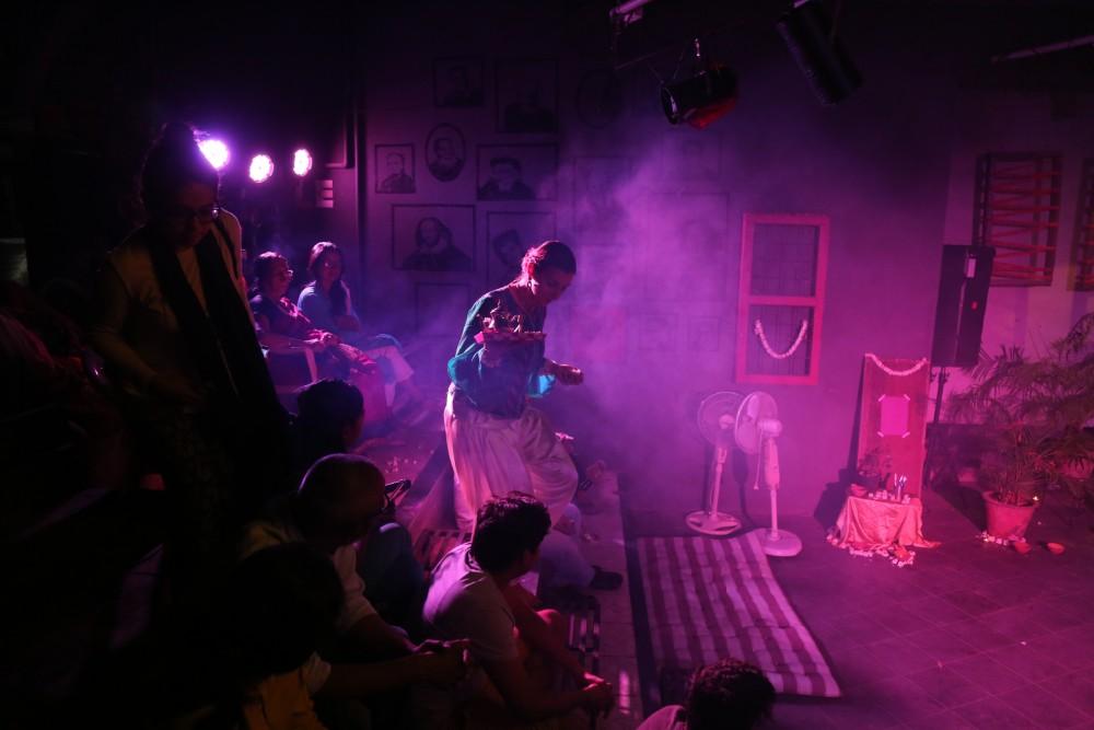 Muskaan, Kathak-Mime-Clowning, performing arts, Bhakti Shah, Anjali Shah, Scrap-Yard