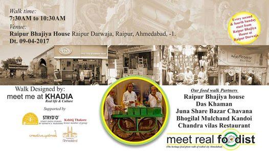 Meet Real Foodist - Heritage Food Walk - Events in Ahmedabad 916882a5dac