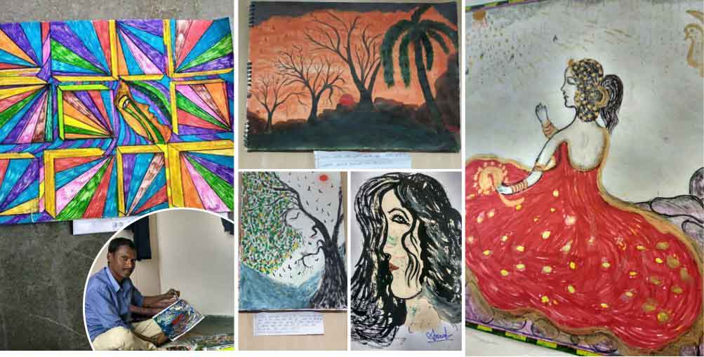Amrut-Tabiyar-artist-paintings-artwork-by-gnlu-comman-man