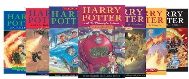 Harry Potter Books Year Published : The first edition of harry potter series was published today