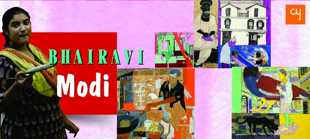 bhairavi-modi, Artists of Ahmedabad