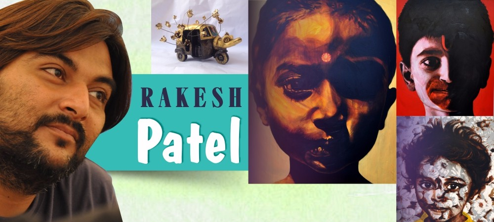 rakesh-patel, Artists of Ahmedabad