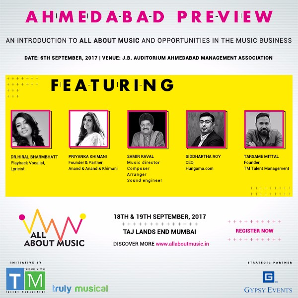 Meet The Music Maestros - All About Music Conference - AMA - Ahmedabad