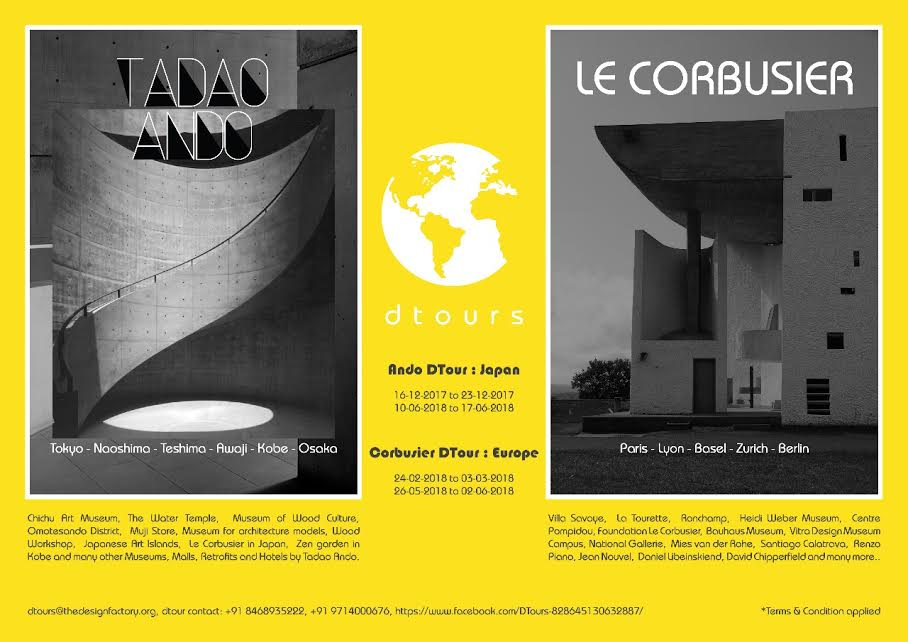 Curated tour to Japan and Europe- Experience Marvels Carved by Architect Tadao Ando and Le Corbusier