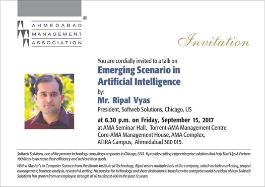Emerging Scenario in Artificial Intelligence - AMA