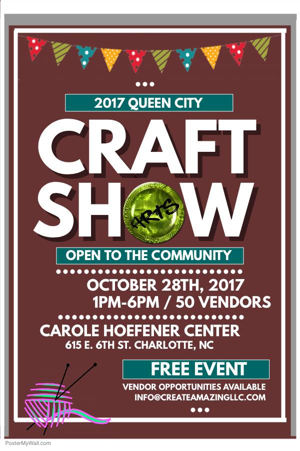 Things to do in charlotte nc charlotte art weekly 20 for Craft shows in nc 2017