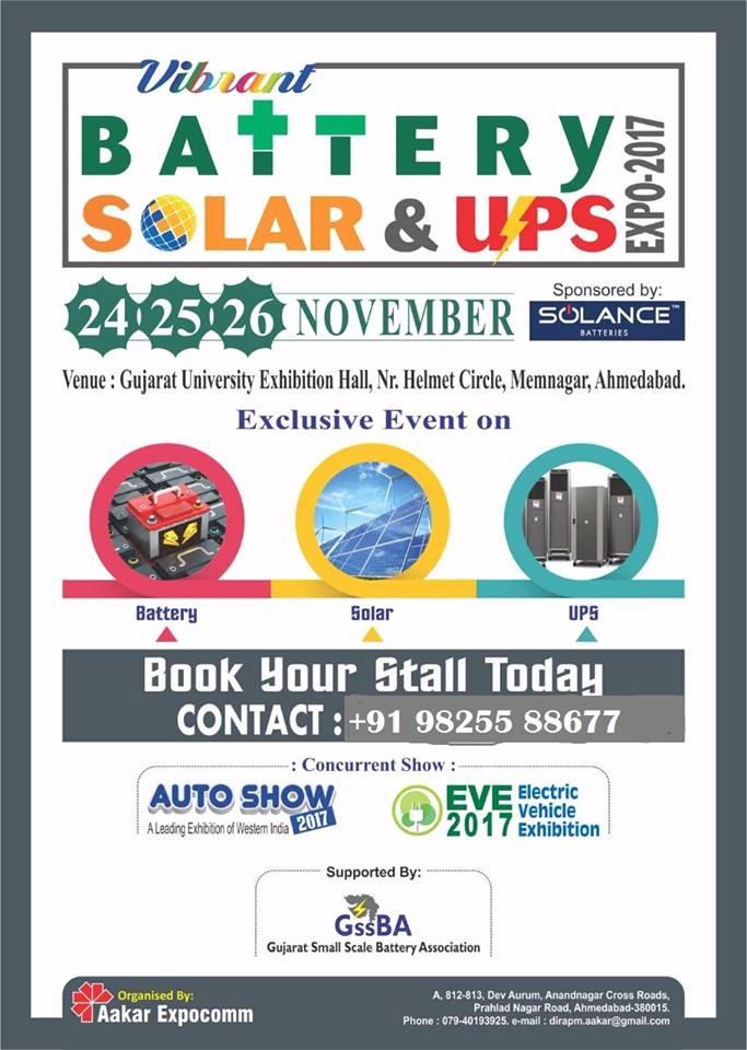 Battery Solar & Ups Expo - ...