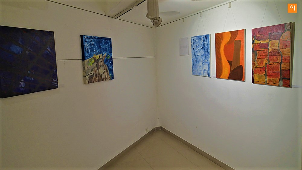 Art Show at kanoria Centre for Arts, Ahmedabad