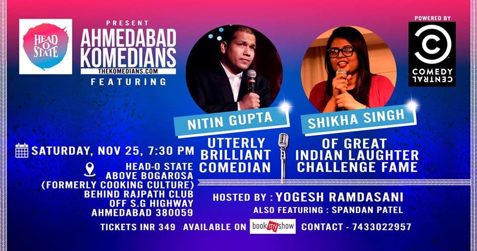 Ahmedabad Komedians feat. Niti ...