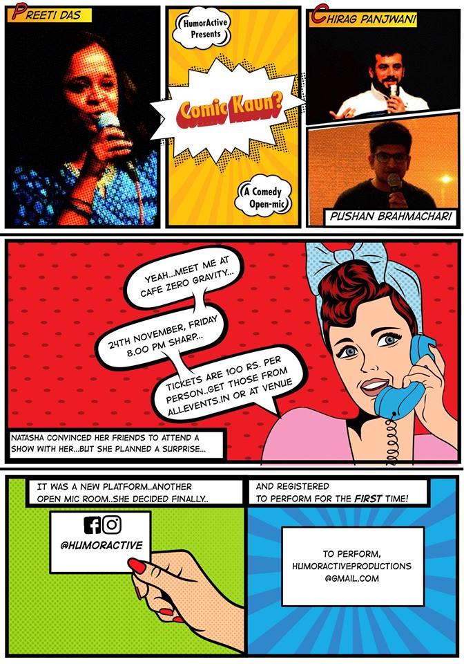 Comic Kaun? - Stand Up Comedy  ...