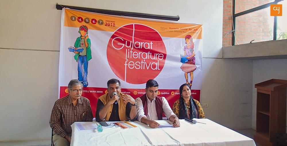 Gujarat Literature Festival 2018, GLF, GujLitFest