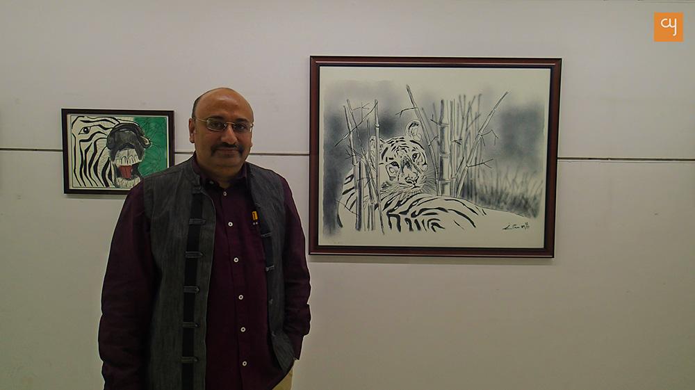 I Chitra, ipad Art, Jatin Bhatt
