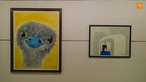 I Pad Art, Ostrich
