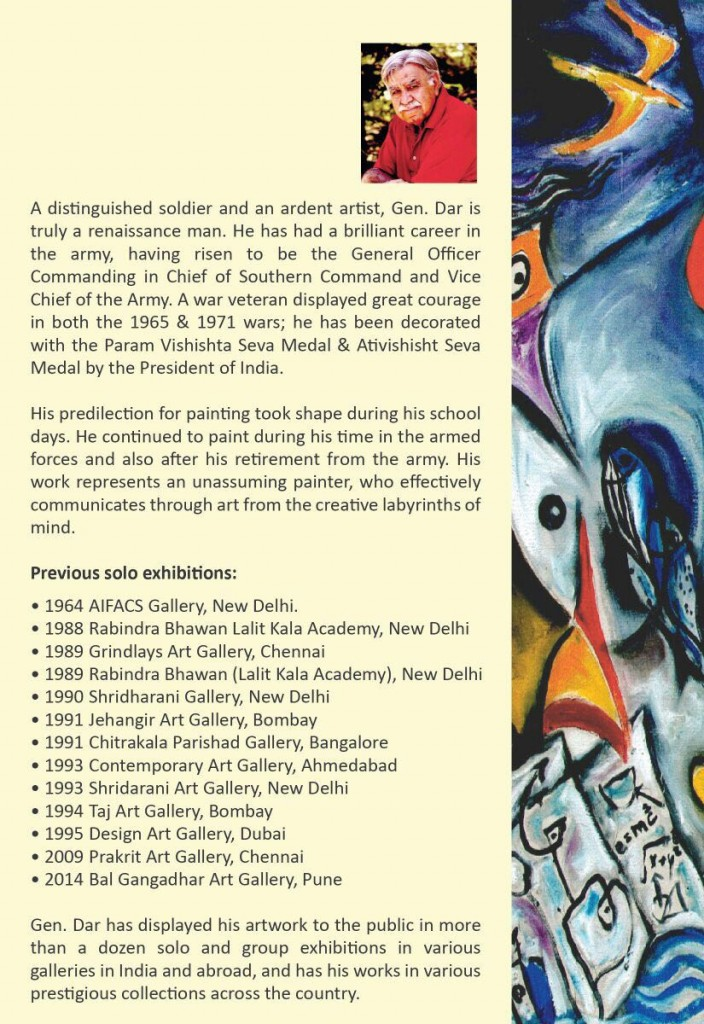Exhibition of Paintings by Lt. Gen. Moti Dar