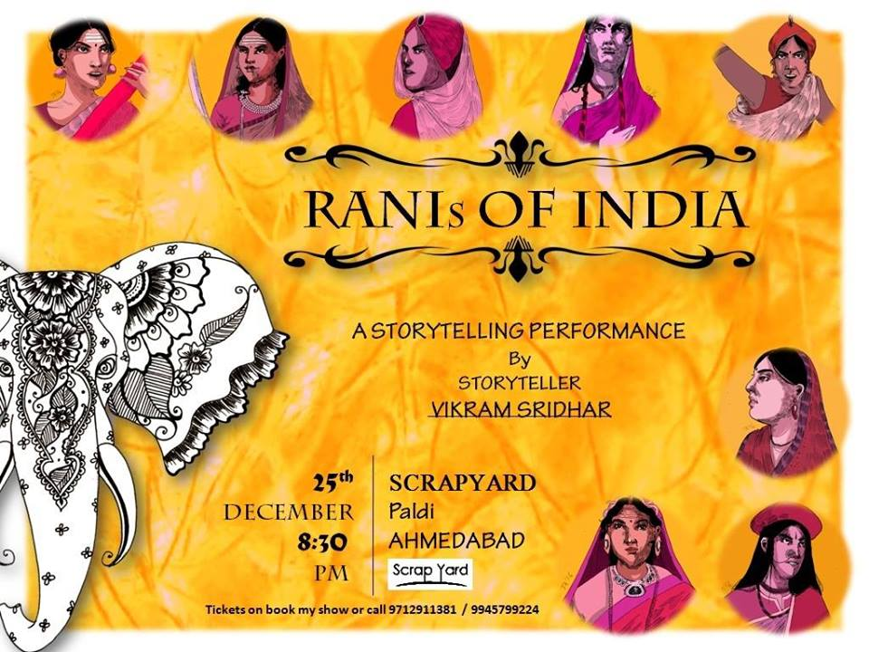 https://creativeyatra.com/wp-content/uploads/2017/12/RANIs-of-India-Storytelling-evening-for-Adults-With-Vikram.jpg