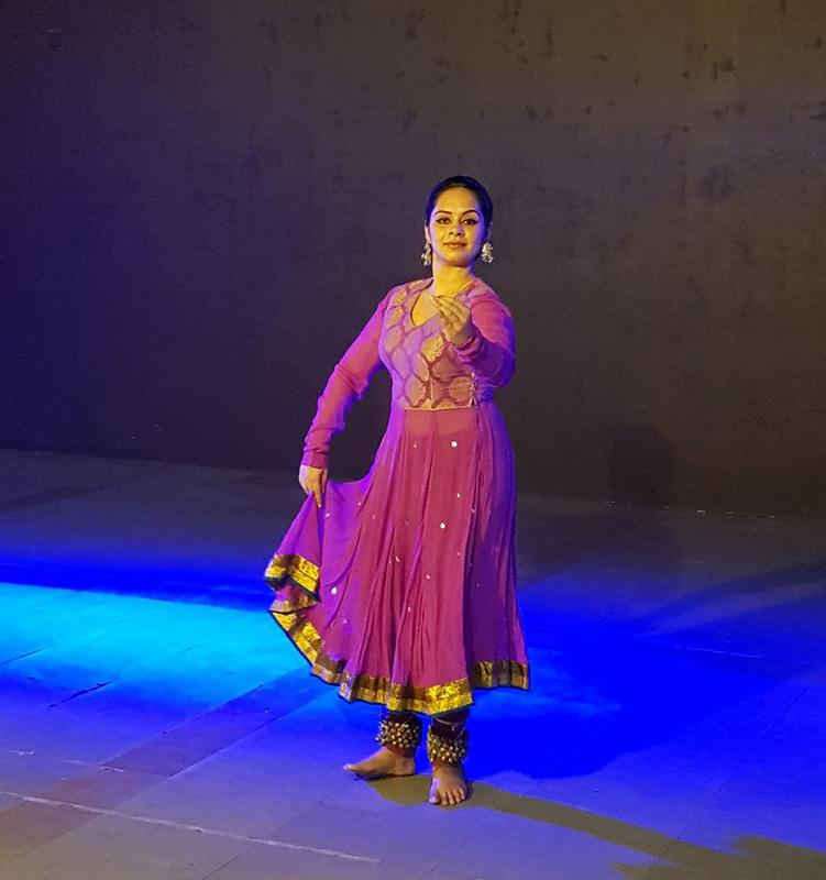 Rupanshi, Kadamb, Kathak, Indian Classical Dance