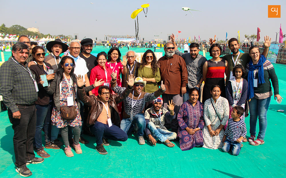 ahmedabad-artists-at-kite-festival