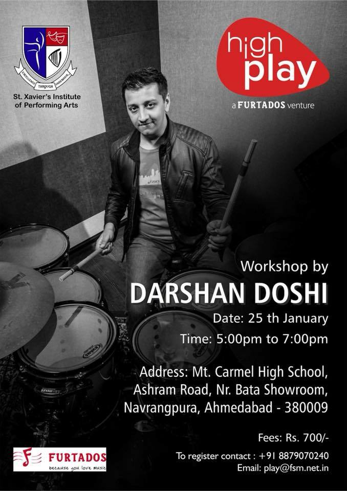 Drum Workshop by Darshan Doshi