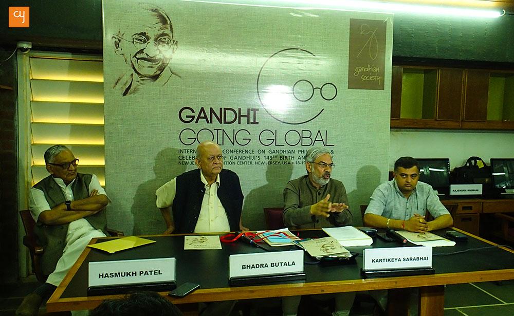Gandhi Going Global, Mahatma Gandhi