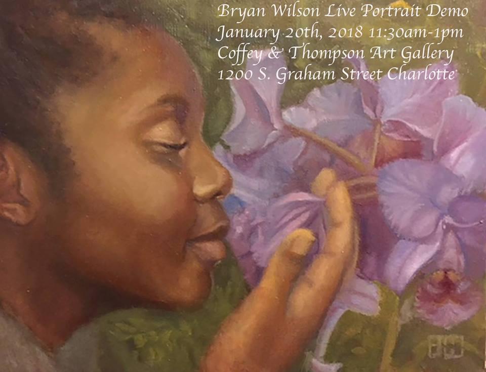 live-portrait-demobryan-wilsoncoffey-and-thompson-art-galleryframe-designs