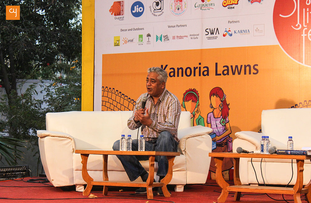 rajdeep-sardesai-gujarat-literature-festival