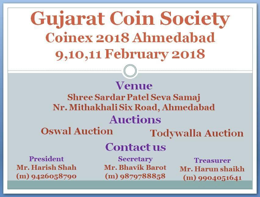 Ahmedabad CoinEx 2018 :: Coins of Republic India
