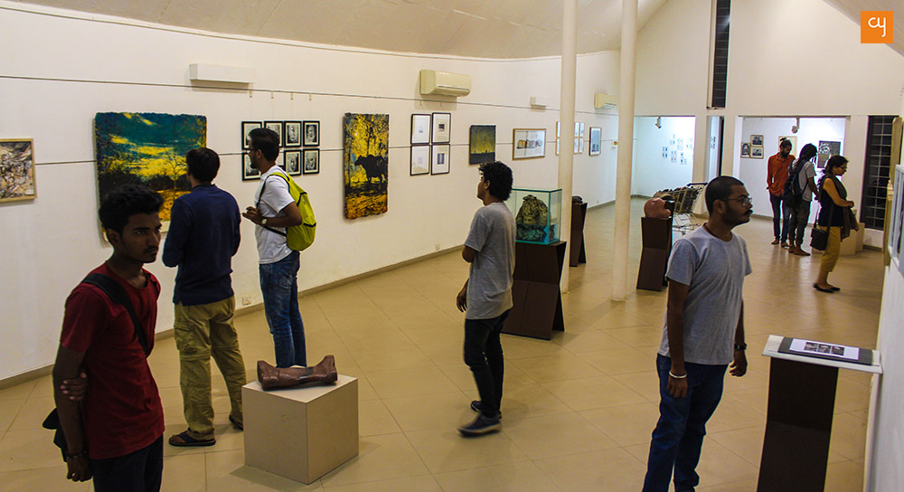 ART 18 at Kanoria Centre : An Opportunity to Mingle with Young Talent