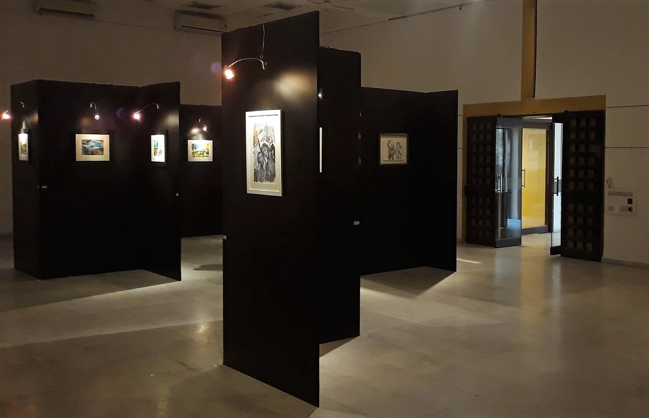 ram-kumar-art-exhibition-ahmedabad