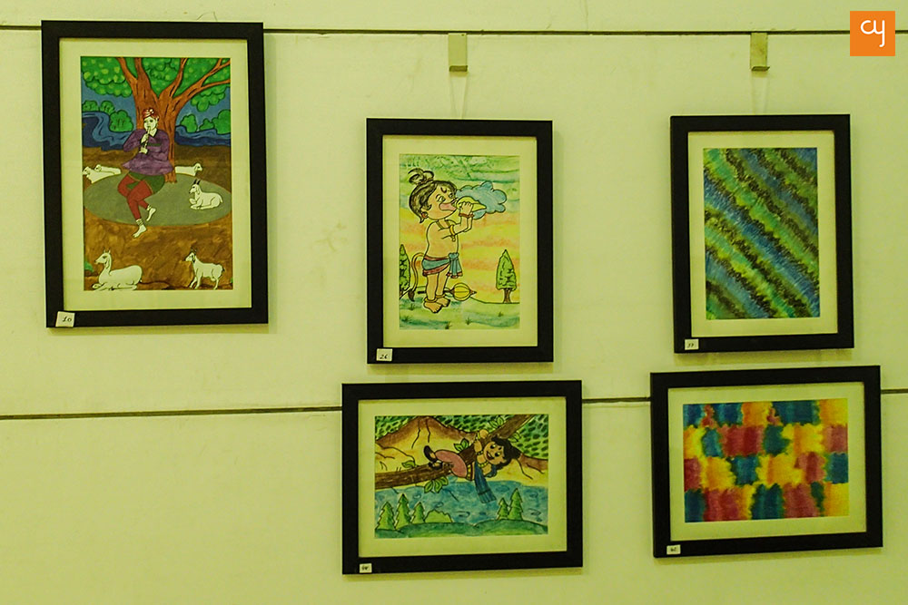 Artworks by children of Shwas Charitable Trust