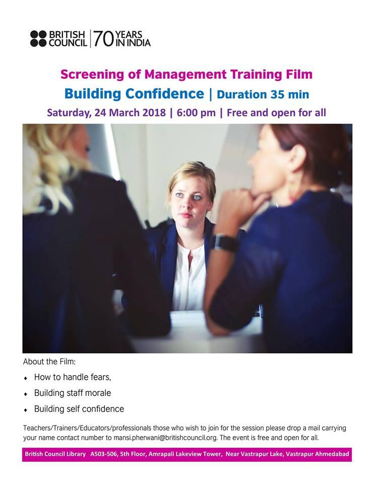 Management Training Film Scree ...