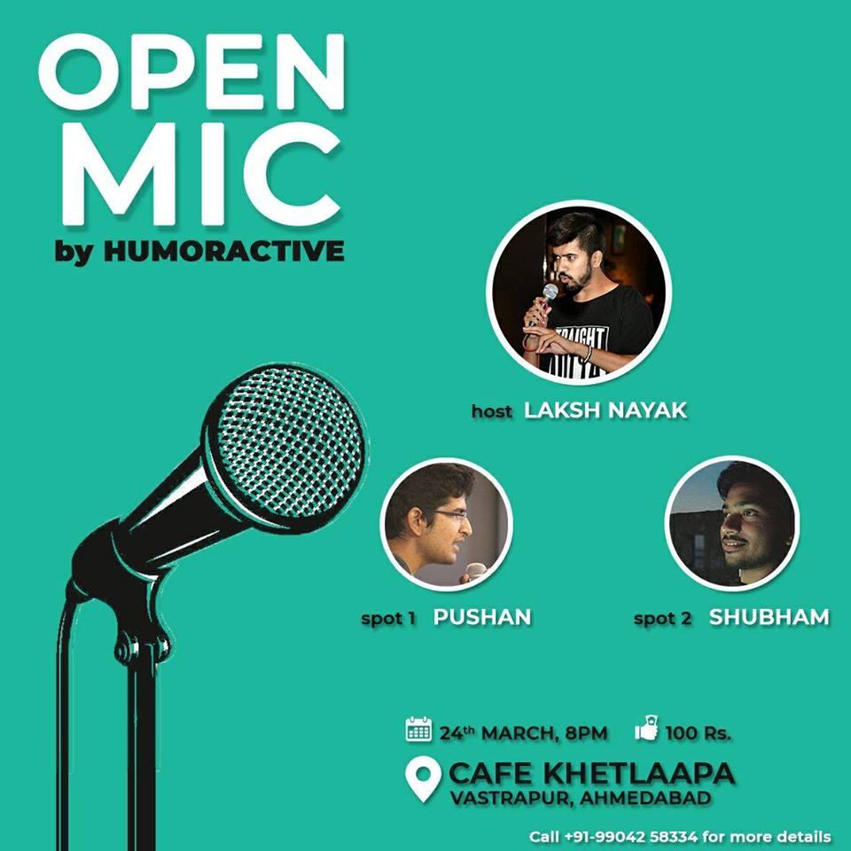 Open Mic By HumorActive