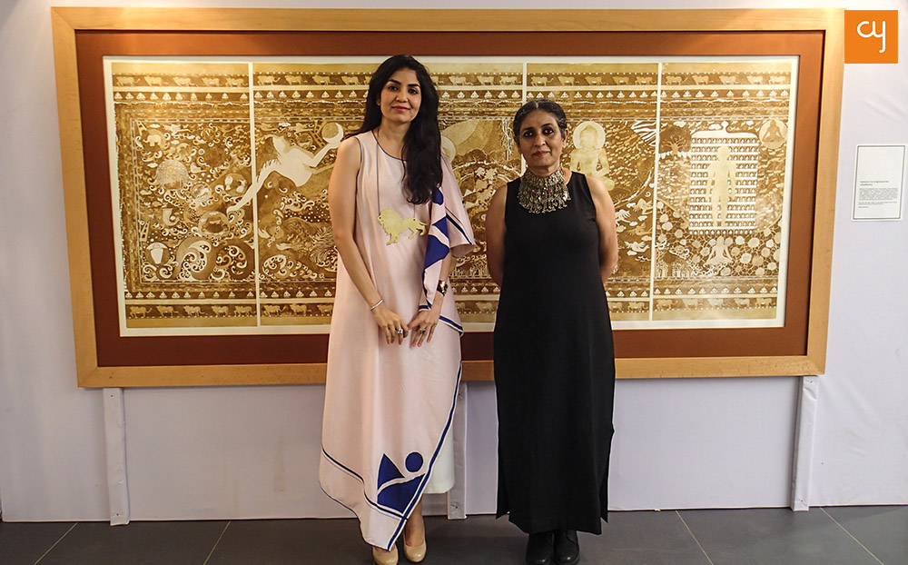 Seema Kohli Through Her Feminine Perspective Woos Ahmedabad & Art-E-Fair
