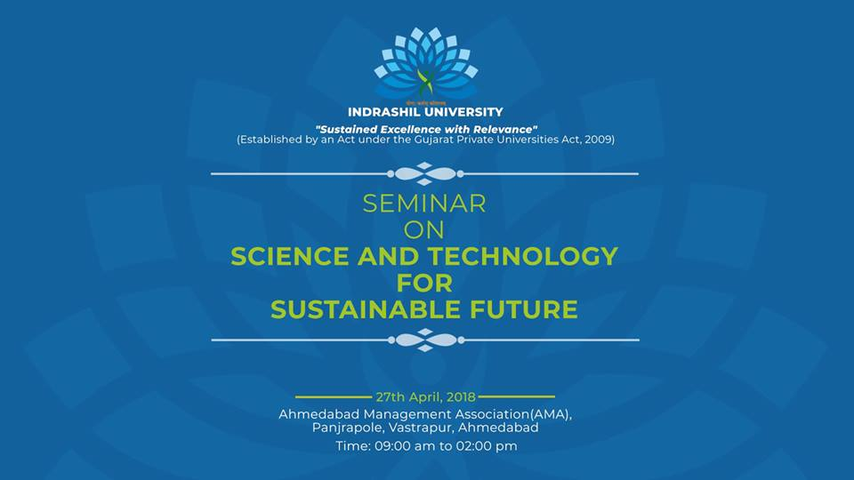 Seminar On Science And Technology For Sustainable Future