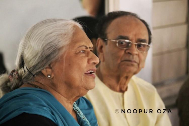Kumudini Lakhia and Dr Suresh Desai