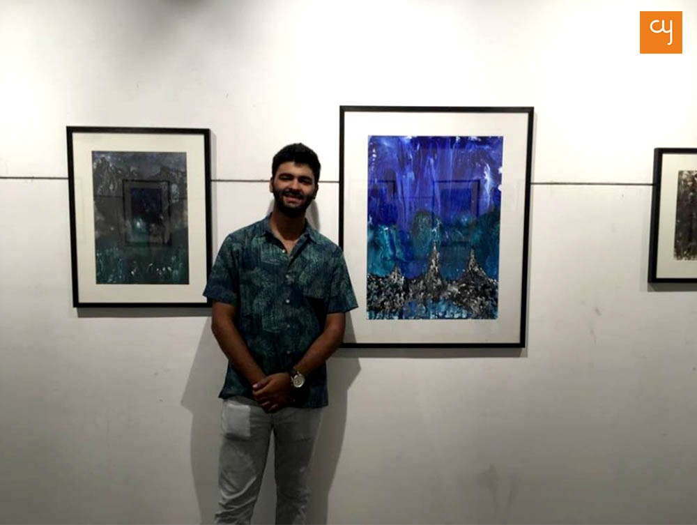 This monsoon, catch 19-year-old Jwalant Nanavaty's melting abstracts of nature