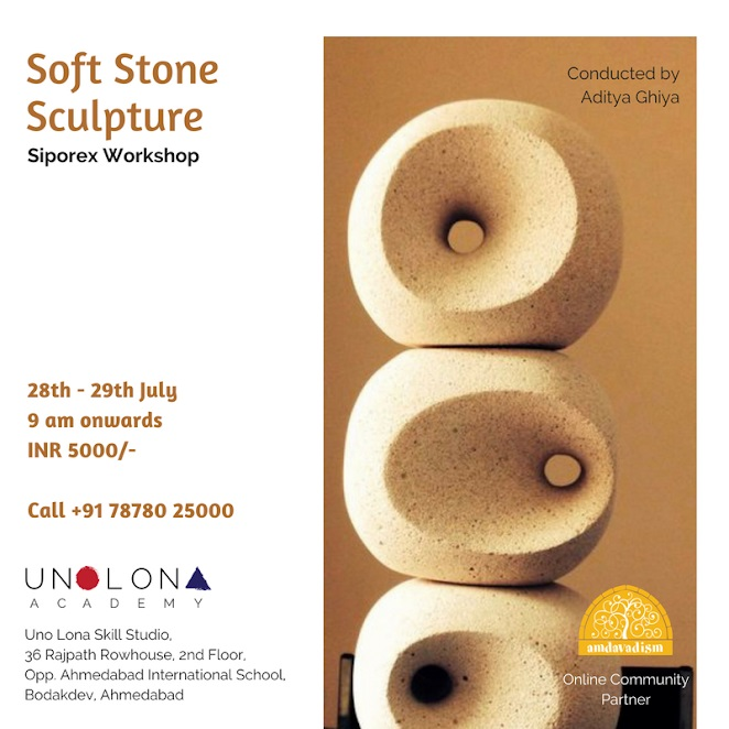 Soft Stone Sculpture Workshop