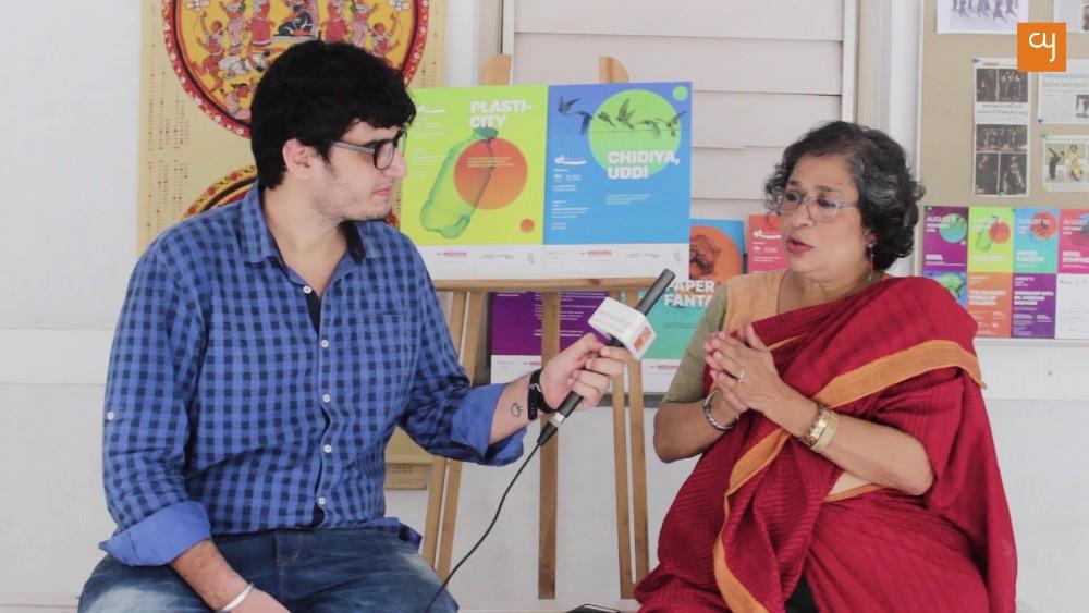 Arundhati Nag With Himanshu Nainai