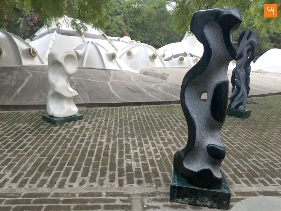 Father-son duo of Gyan Singh and Amit Singh bring 40 marvels carved in marble to Ahmedabad
