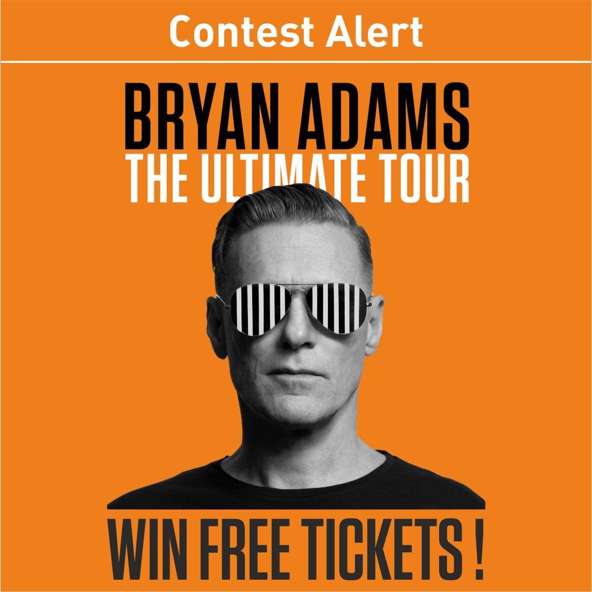 Photo Contest Alert: Win free tickets to Bryan Adams
