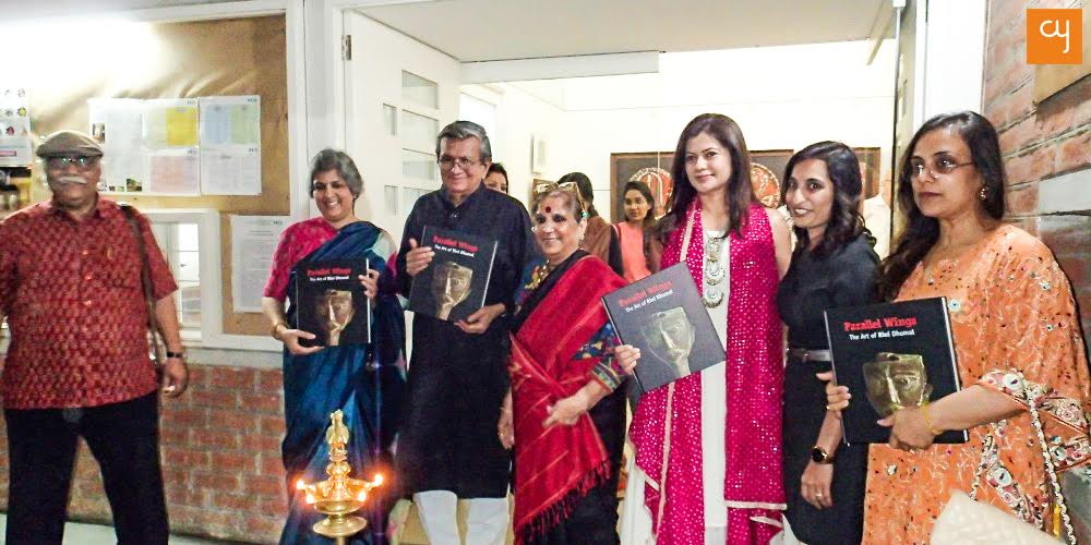 Book unveiling 'Parallel Wings - The Art of Rini Dhumal'