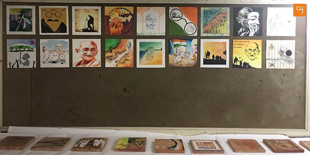 Mahatma Gandhi, CN School of Fine Arts