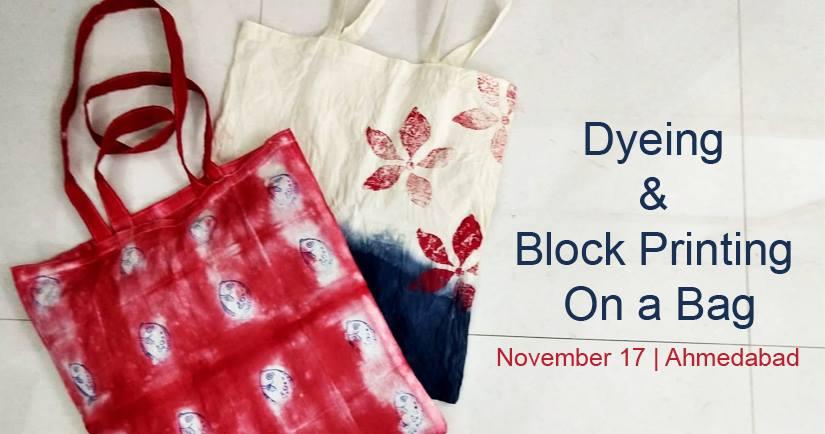 https://creativeyatra.com/wp-content/uploads/2018/11/Dyeing-Block-Printing-on-a-Bag.jpg