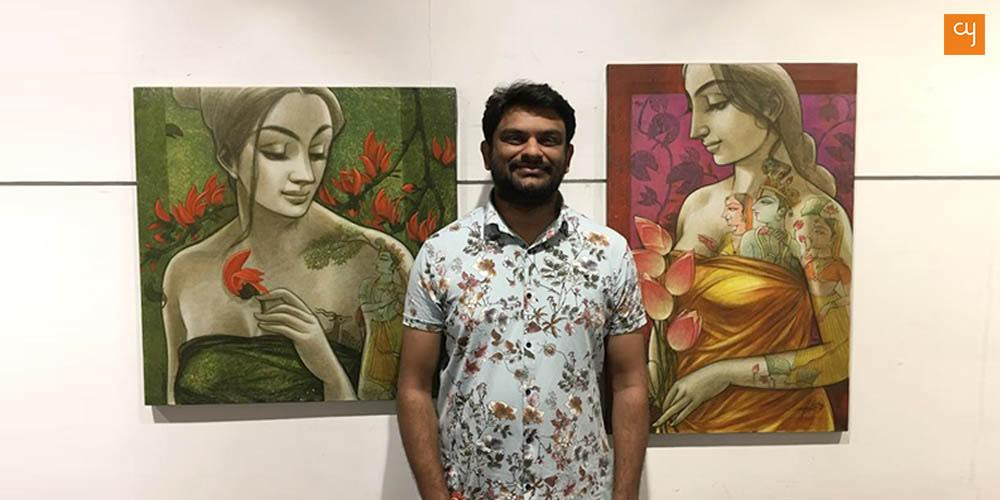 giriraj-kadia-at-art-gallery-amdavad-ni-gufa