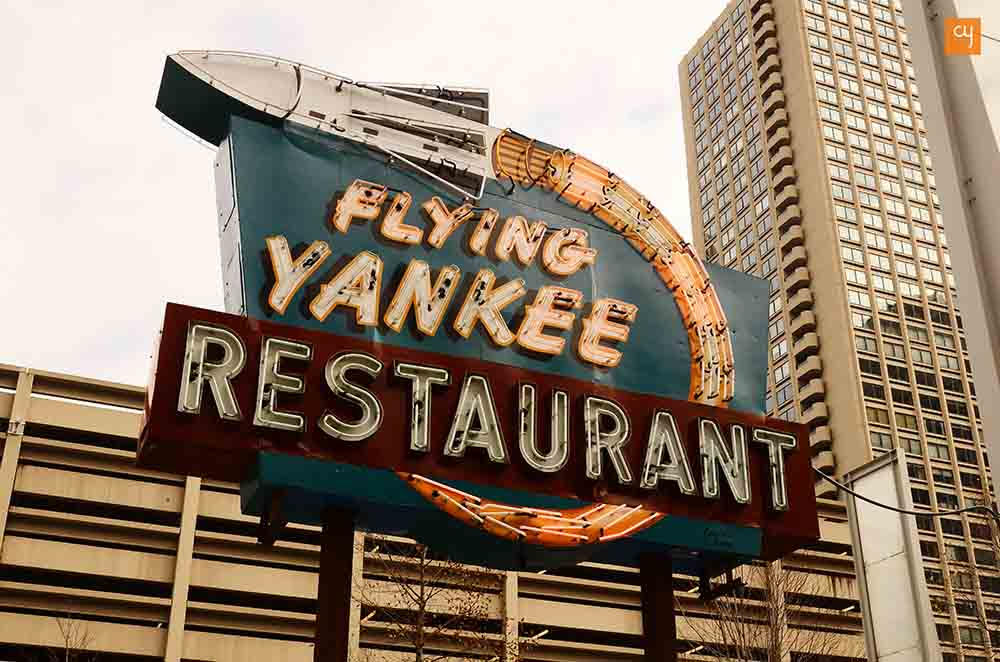 neon-sign-of-flying-yankee-restaurant-1953-the-exhibition-glow